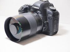 EOS Fit LENTE 500 MM = 750 mm su reflex digitali Canon 750D 500D 550D 600D 650D 700D 6D