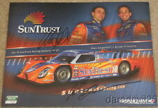2009 Suntrust Racing Ford Daytona Prototype signed Grand Am postcard