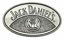 Jack Daniel`s Belt Buckle Old No.7 Brand Silver Authentic Officially Licensed