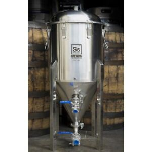 Half bbl 17 Gallon Conical Fermenter Ss Brew Tech Stainless Chronical Conical Ss