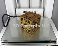 Hellraiser Cube Puzzle Box - Gold Lament Configuration