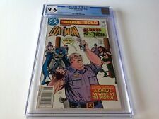 BRAVE AND THE BOLD 189 CGC 9.6 WHITE PAGES NAZI SWASTIKA BATMAN ROSE THORN DC