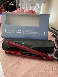 "FHI Heat Platform Tourmaline Ceramic Professional Hair Styling Iron 1"""