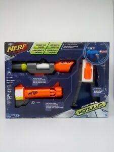 Nerf N-Strike Modulus Long Range Upgrade Kit Barrel Scope Bi-Pod