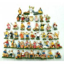 Serie Completa 48 Pastori Euromarchi Cm 4 - Natività Sacra Famiglia Set  Presepe