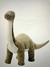 "Ikea JÃ""Ttelik Dinosaur Brontosaurus large 35"" soft stuffed animal toy"