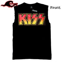 KISS - Kiss Army - Crew Shirt - Modified Cut-Off Band Singlet