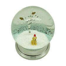Heaven Sends Labrador In Santa Hat Christmas Snow Globe Home Decoration