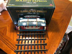 Rare New Bright HOLIDAY EXPRESS CHRISTMAS TRAIN Animated Passager Car.