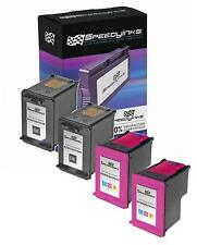 4 Black & Color Ink Cartridge for HP 60  Deskjet d2660 f2420 f4400 d1663 f2483