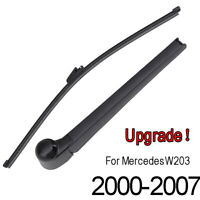 Rear Windscreen Wiper Blade Arm Set For Mercedes-Benz C-class W203 Estate 00-07