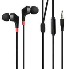 Wired Earphones Hi-Fi Sound Headphones Handsfree Mic Headset for Phones Tablets