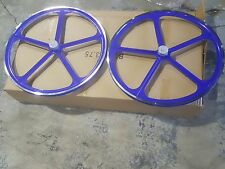 """MOTORIZED BICYCLE 700C"""" WHEELS SET WITH AXLES SET AND 22T FREE WHEEL INCLUDE"""