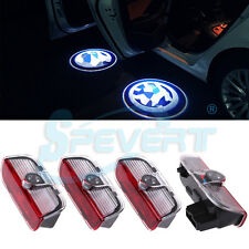 4x Car Door Led Welcome Laser Projector Logo Shadow Light for VW Passat Tiguan