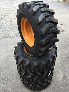 12-16.5 HD Skid Steer Tires/wheels/rims-Camso SKS532-12X16.5 for Case 1845C, etc