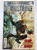 Deathstroke Rebirth #18 - DC comics - VF/NM
