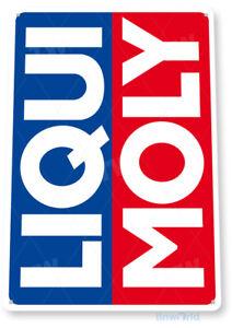 Liqui Moly Gas Oil Sign, Station, Garage, Auto Shop, Retro Rustic Tin Sign C548