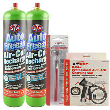 Car Aircon Air Con Conditioning Top up Recharge Refill Regas Like STP R134a