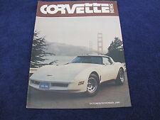 Corvette News - Oct/Nov 1980, 1980 Model Year