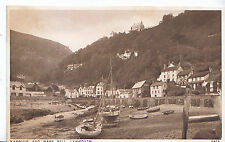 Devon Postcard - Harbour and Mars Hill - Lynmouth     ZZ3183