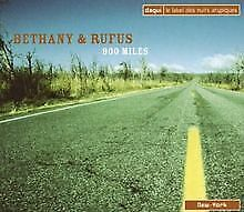 900 Miles von Bethany and Rufus   CD   Zustand sehr gut