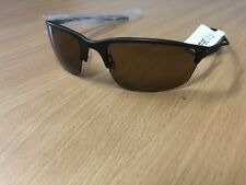 Oakley Halfwire 2.0  Carbon Frame with Bronze Polarised Lens NOS