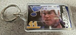 CHRIS PRONGER #44 KEY CHAIN NHL HOCKEY BLUES