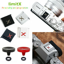 Hot Shoe cover & Concave Shutter Release Button for Fujifilm camera X100V X-T30