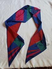 Vintage Scarf Designer Versa By Vera Colorful Retro Fashion Collectible