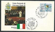 1984 VATICANO VIAGGI DEL PAPA PAVIA  - SV