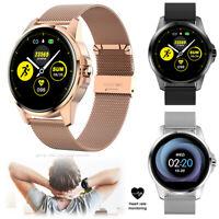 Smartwatch Fitness Tracker Smart Armband Uhr für Samsung iPhone Männer Frauen