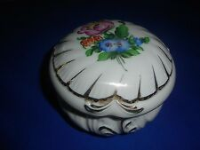 Herend Hungary Small Bonbonniere Candy Box 5x3""