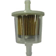 """GKI GF68PL 1/4"""" Plastic Inline Gas/Fuel Filter fits G1 33031 F20117"""