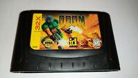 Doom Sega Genesis 32X Game Cart *Used*