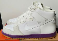 Nike Dunk High Deluxe MITA OSTRICH WHITE PURPLE 312032-111 10.5 low air max 97 1