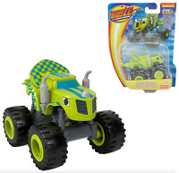 Blaze and the Monster Machines ZEG Racing Flag Diecast Car Fisher Price NEW