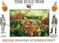 A Call To Arms British infantry at Rorke's Drift Zulu War Wars Soldier Kit 1:32