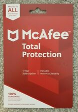 McAfee Total Protection Full Security Software with Antivirus - 1 Year 10 Device