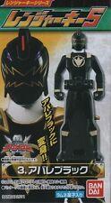 Japan BANDAI Kaizoku Sentai GOKAIGER Ranger Key ABARE-BLACK Candy Toy