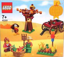 Lego 40261 día de acción de gracias Acker carruaje árbol 2 figuras Exclusiv rar nuevo Sealed