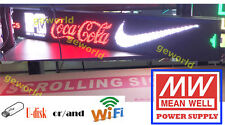 "6.3""X42"" LED Scrolling Sign MultiColor Programmable Message Display Board Indoor"