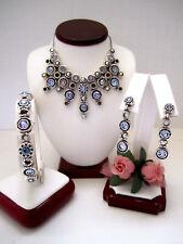 "Brighton ""HALO BURST"" Collar Necklace-Earring-Bracelet Set (MSR$214) NWT/Pouch"
