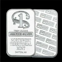 Quality Silver Bar Northwest Territorial Mint Bullion Bar Coin Home Collection