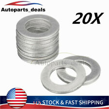 20PCS 14mm Oil Drain Plug Crush Washer Gaskets For Honda Acura 94109-14000