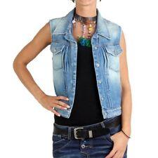 Ropa de mujer de color principal azul 100% algodón talla M