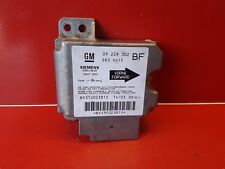 OPEL ASTRA G CALCULATEUR AIRBAG  REF 09229302
