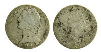 s56_4) France Louis XV - 1 ECU 1767 K