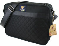 The British Bag Company Quilted Airliner Travel bag  Mens Gift