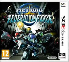 * NINTENDO 3DS & 2DS NEW SEALED GAME * METROID PRIME - FEDERATION FORCE
