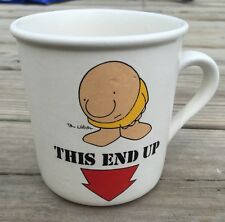 "Vintage Ziggy Mug, ""This End Up"", 1979"
